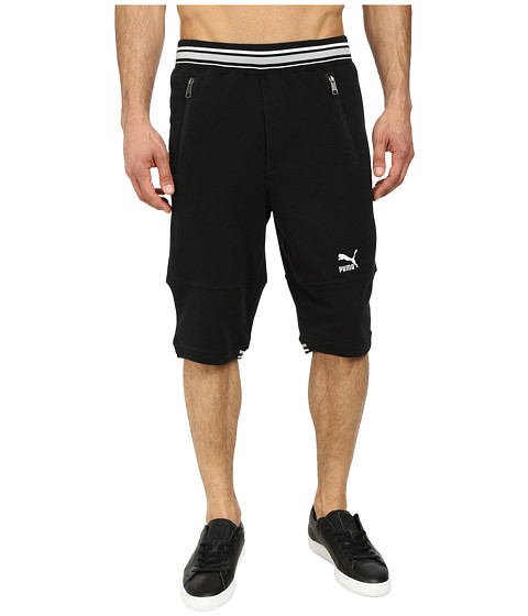 PUMA - Progressive Short (Black) Men's Capri