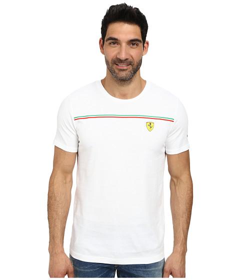 PUMA - Scuderia Ferrari Tee 2 (White) Men's T Shirt