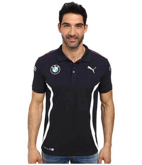 PUMA - BMW Team Polo (BMW Team Blue) Men's Short Sleeve Pullover