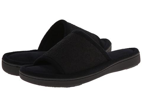 ISOTONER Signature - Sofia Lace Slide (Black) Women's Slippers
