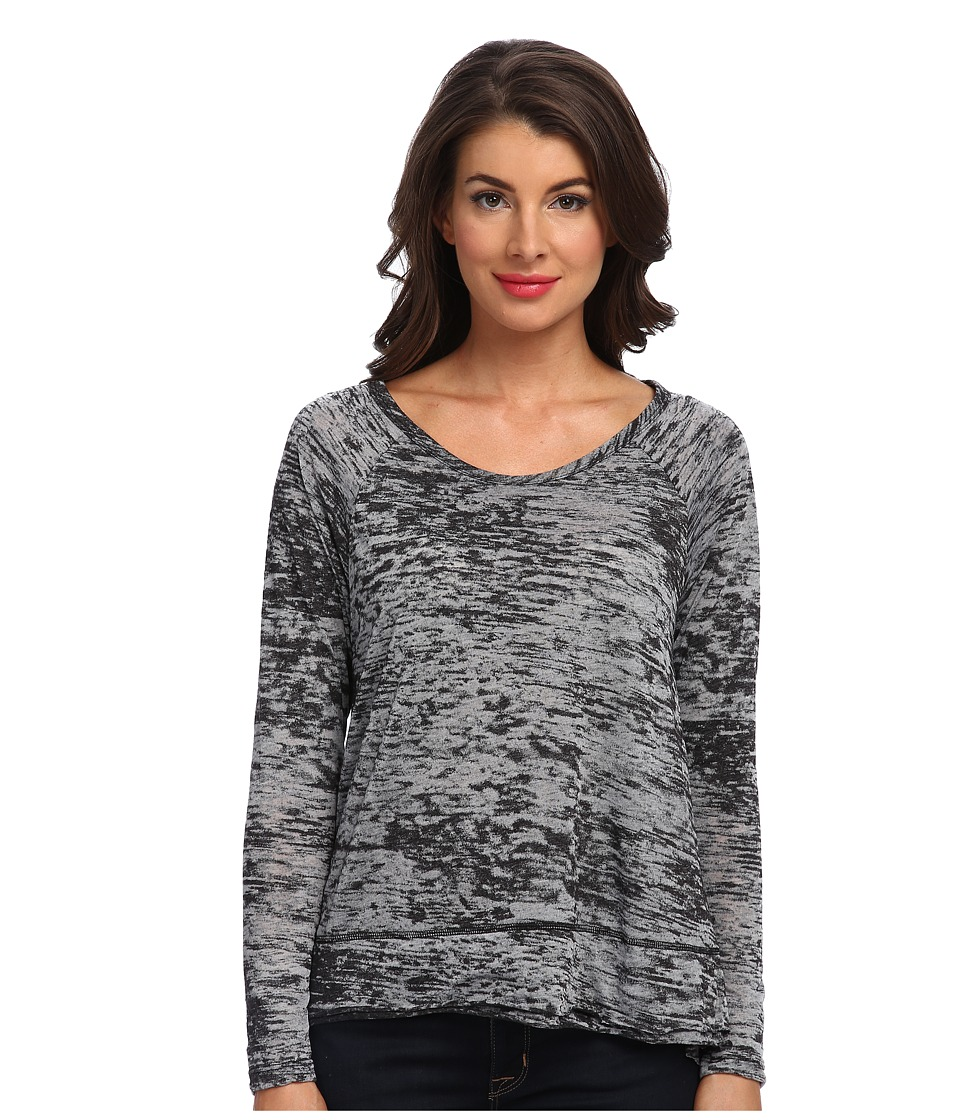 Tart - Yuma Top (Black Burnout) Women's Clothing