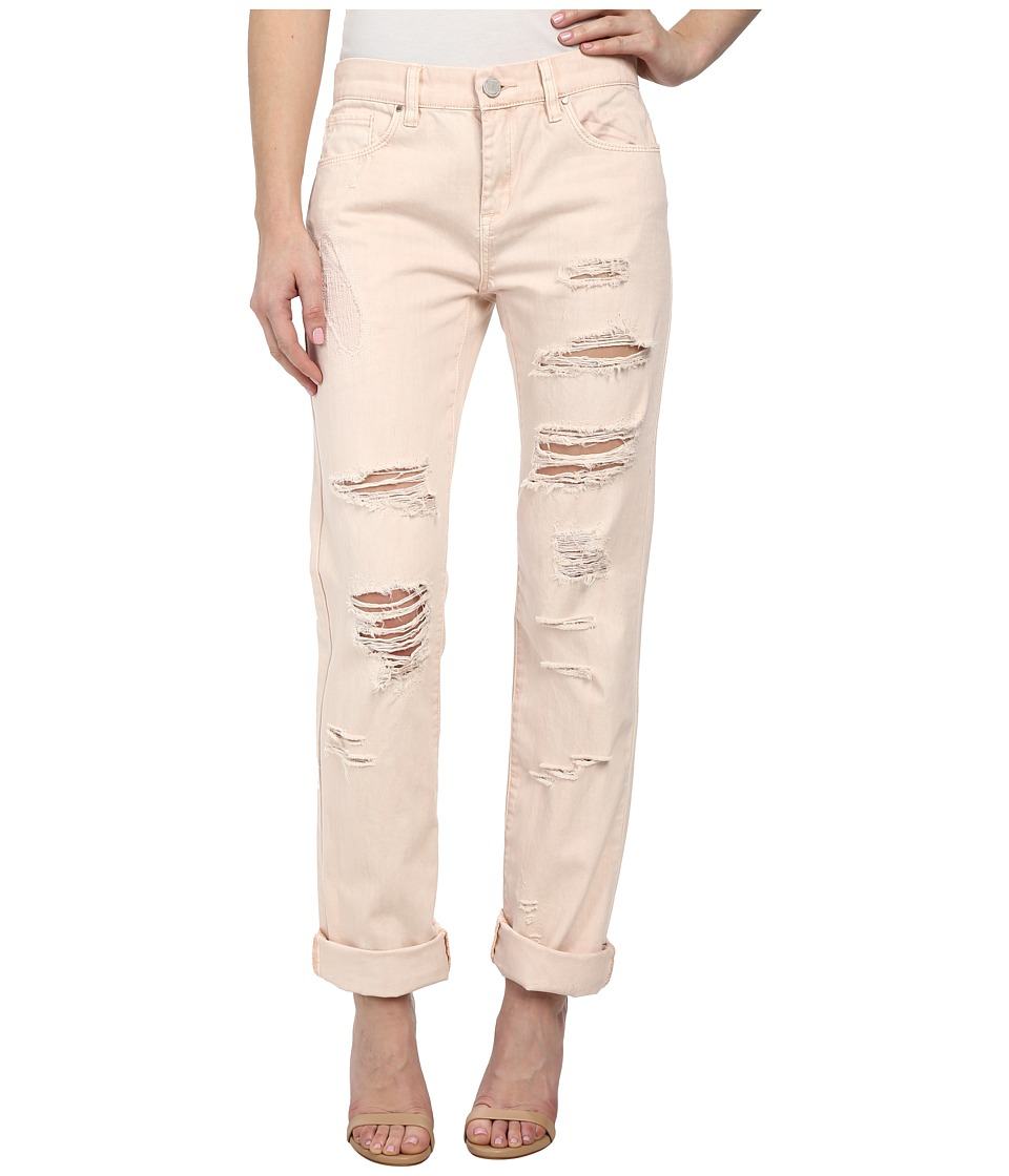 Blank NYC - Pale Pink Distressed Relaxed Rip in Ditz (Ditz) Women's Casual Pants
