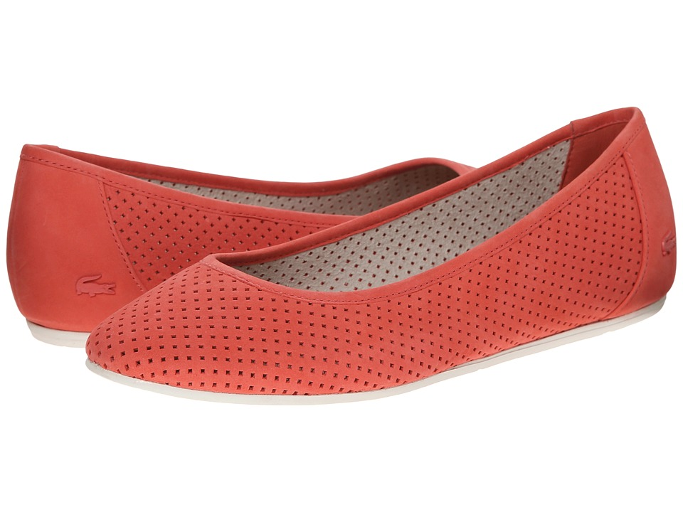 Lacoste - Cessole 2 (Light Red) Women's Slip on Shoes