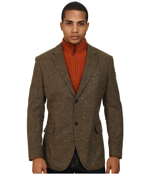 Rodd & Gunn - Dobson Jacket (Cognac) Men's Coat