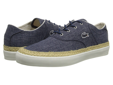 Lacoste - Glendon Espa 4 (Navy) Women's Lace up casual Shoes