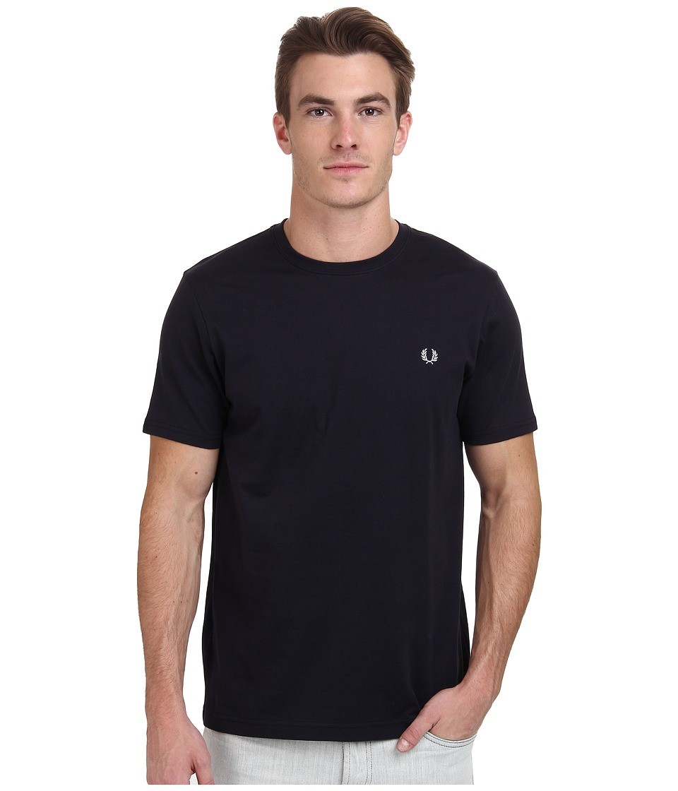 Fred Perry - Crew Neck T-Shirt (Navy) Men's T Shirt