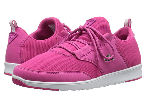 Lacoste - L.Ight Piq (Pink/Pink) Women's Lace up casual Shoes