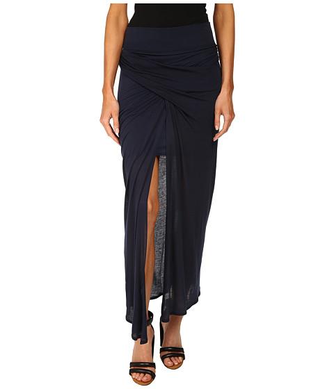 HELMUT LANG - Entity Jersey Skirt (Uniform Blue) Women's Skirt