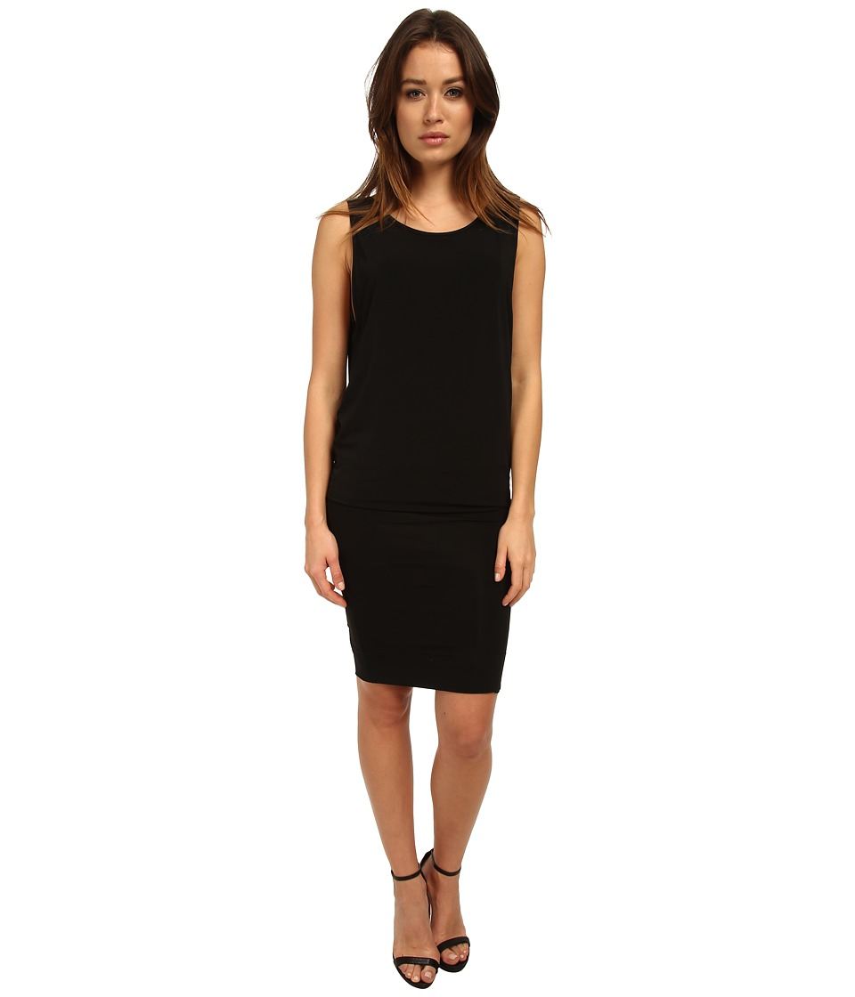 HELMUT LANG - Faint Long Dress (Black) Women's Dress