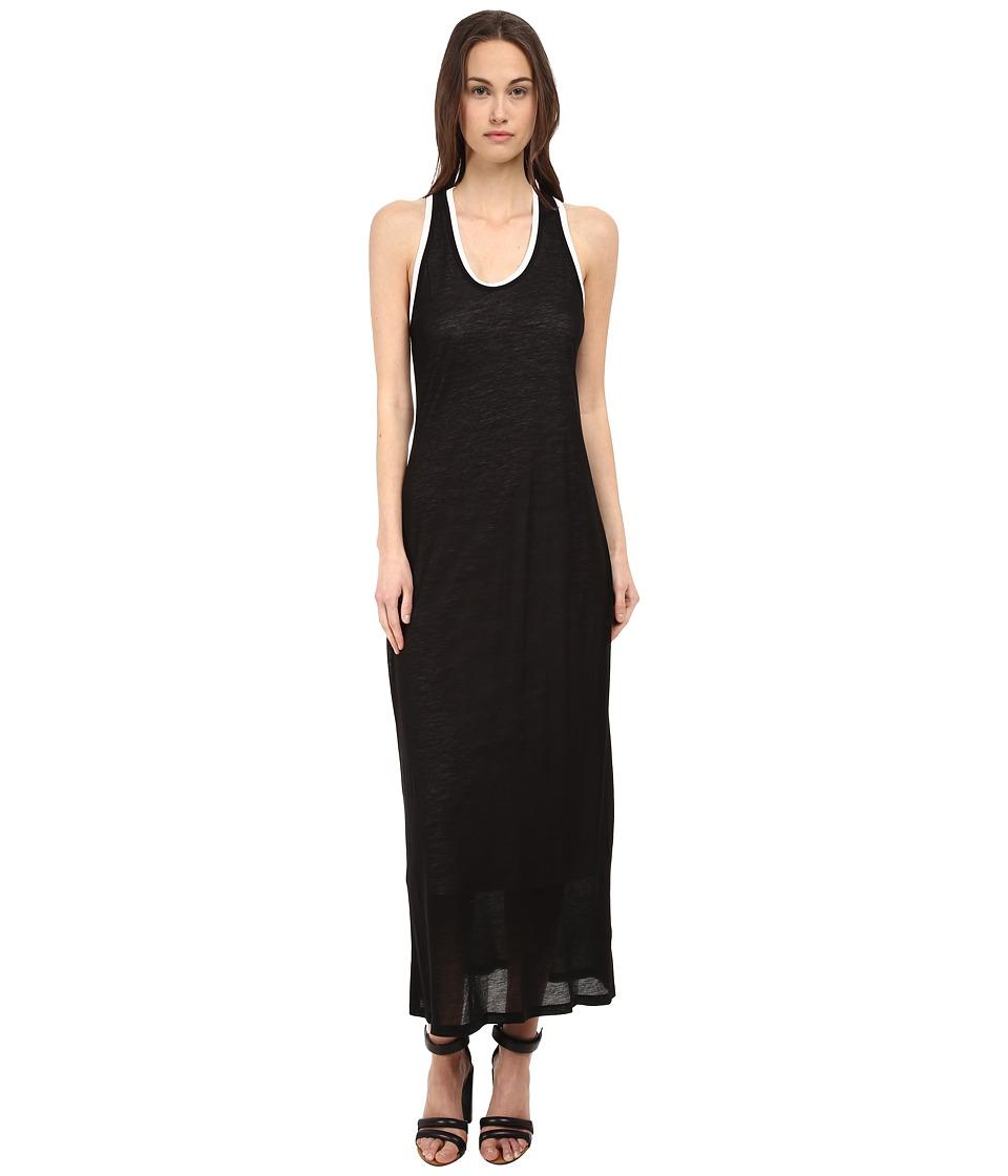 HELMUT LANG - Devotee Dress (Black/White) Women's Dress