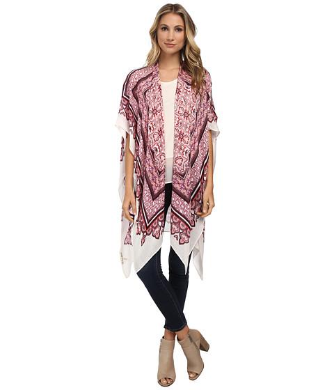 Michael Stars - Bandana Kimono Scarf (Passion Fruit) Women's Clothing