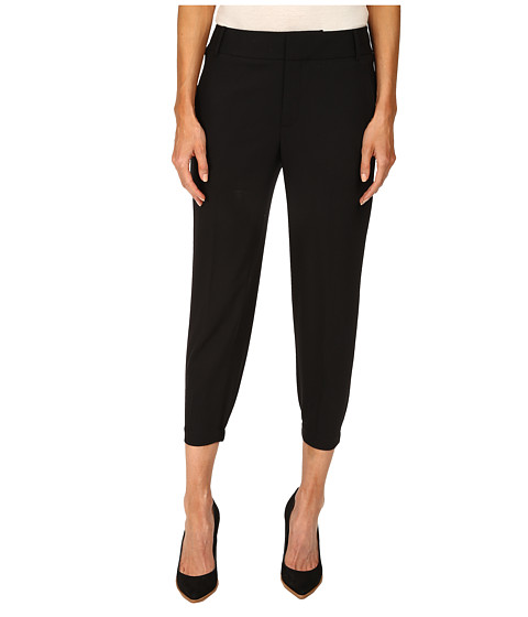 HELMUT LANG - Smoking Wool Pant (Black) Women's Casual Pants