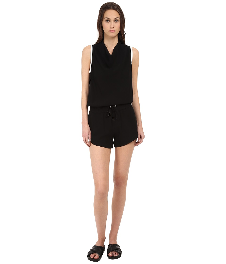 HELMUT LANG - Torsion Jumpsuit (Black) Women's Jumpsuit & Rompers One Piece