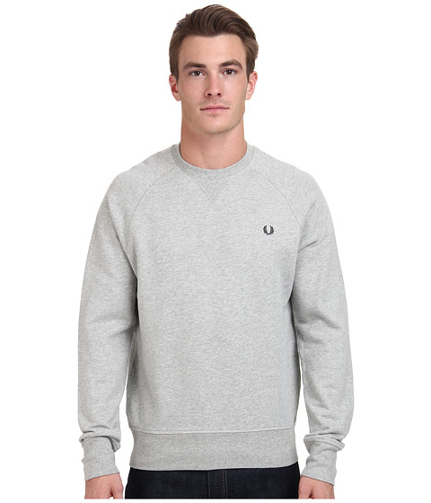 Fred Perry - Loopback Crew Sweater (Stone Marl) Men's Sweater