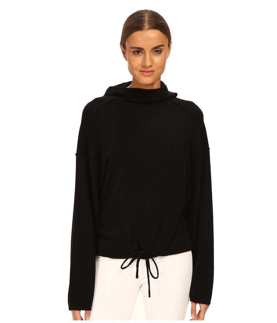 HELMUT LANG - Cashmere Hoodie (Black) Women's Sweatshirt