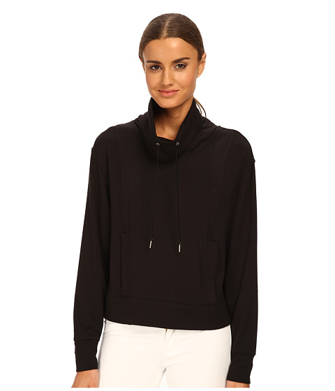 HELMUT LANG - Villous Sweatshirt (Black) Women