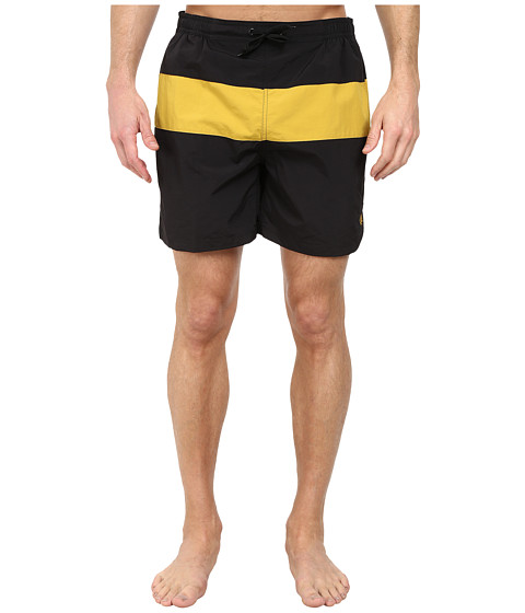 Fred Perry - Panelled Swimshort (Black) Men's Swimwear
