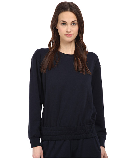 HELMUT LANG - Spring Sweatshirt Top (Navy) Women