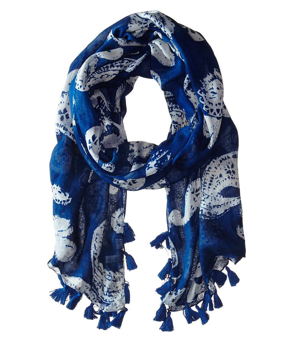 Michael Stars - Faded Paisley Scarf (Ship) Scarves