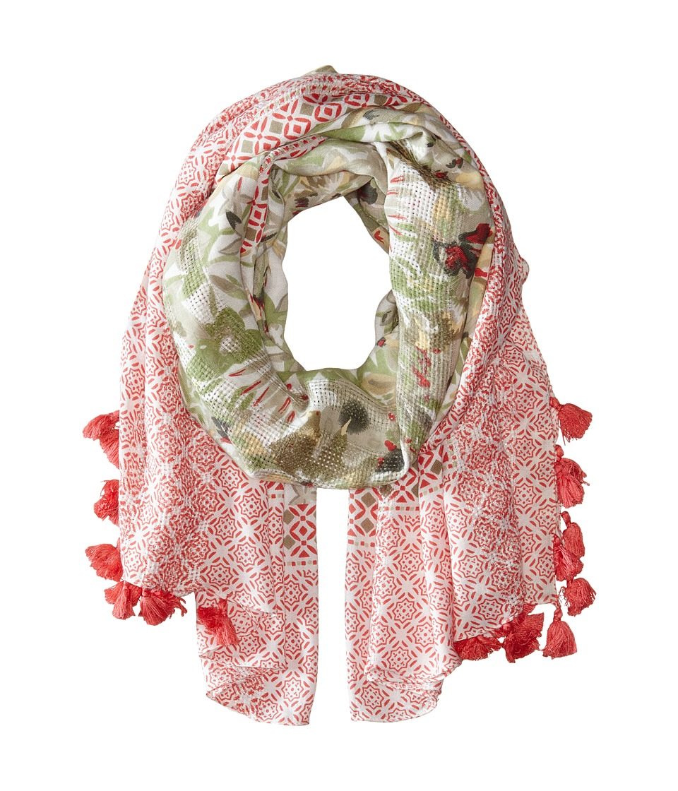 Michael Stars - Tropical Breeze Wrap (Passion Fruit) Scarves