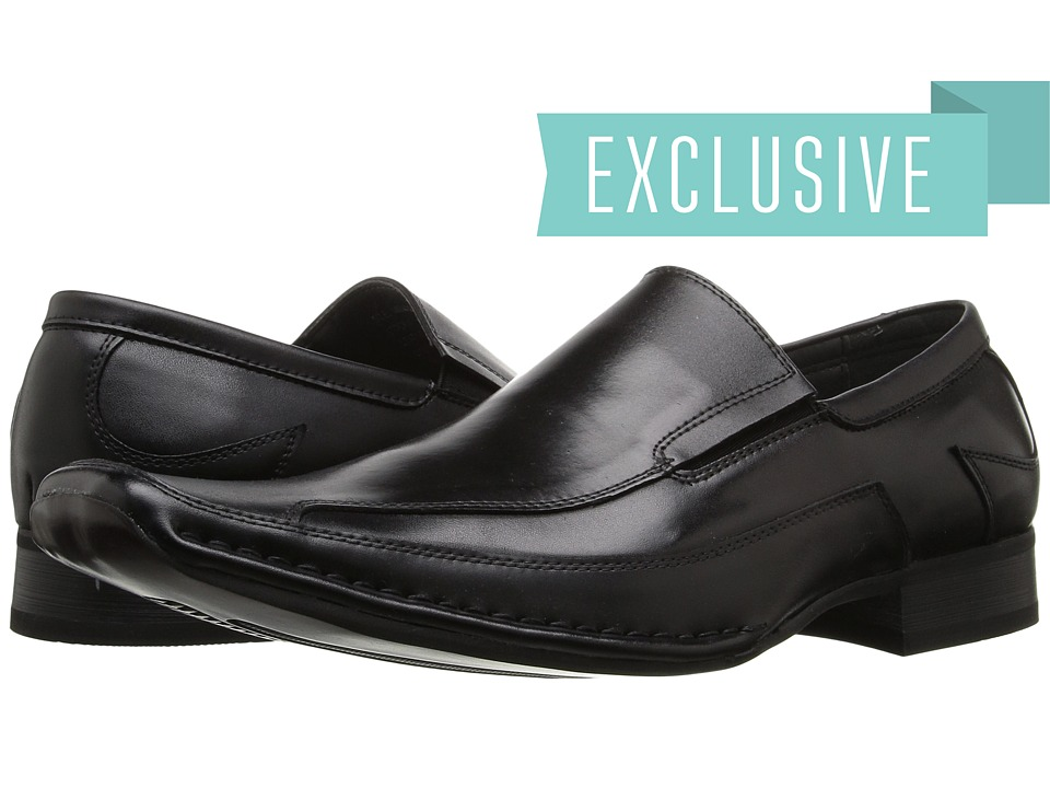 Giorgio Brutini - 15904 (Black Full Grain) Men's Slip-on Dress Shoes