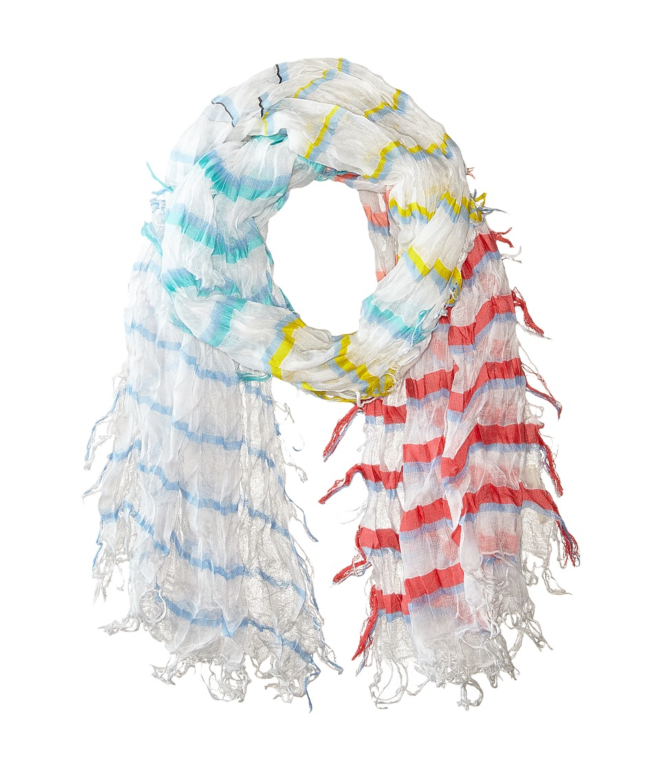 Michael Stars - Seafairing Stripe Scarf (Clearwater) Scarves