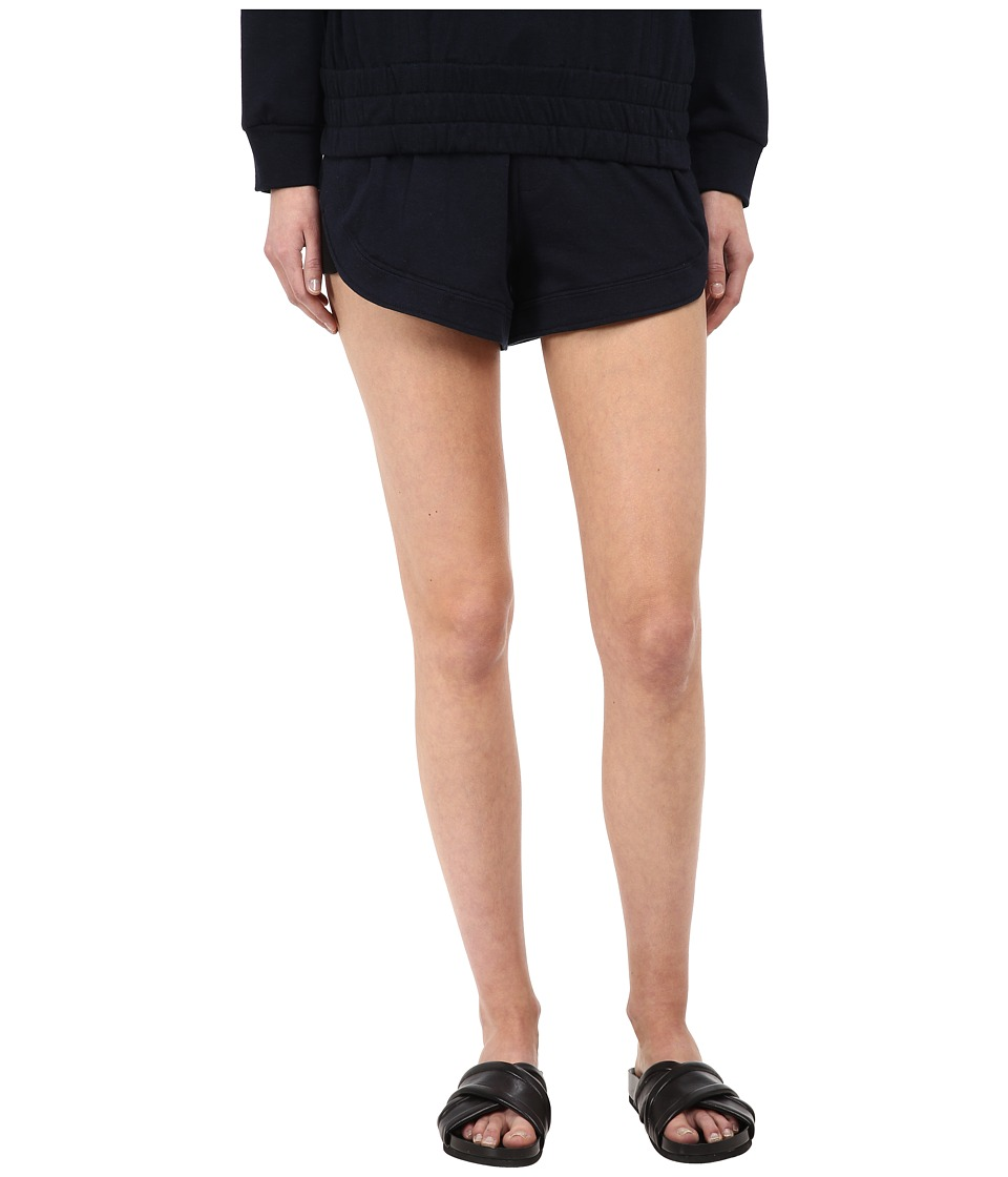 HELMUT LANG - Spring Sweatshirt Short (Navy) Women's Shorts