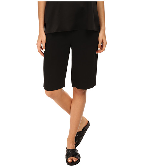 HELMUT LANG - Torsion Slouchy Short (Black) Women's Shorts