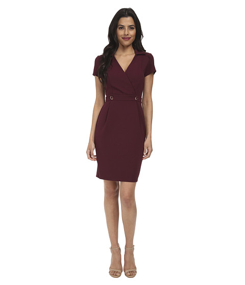 Brigitte Bailey - Paige Dress (Burgundy) Women's Dress