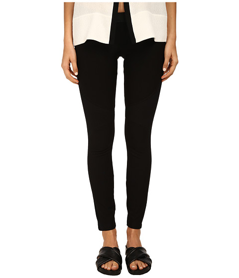HELMUT LANG - Compress Twill Jersey Pant (Black) Women
