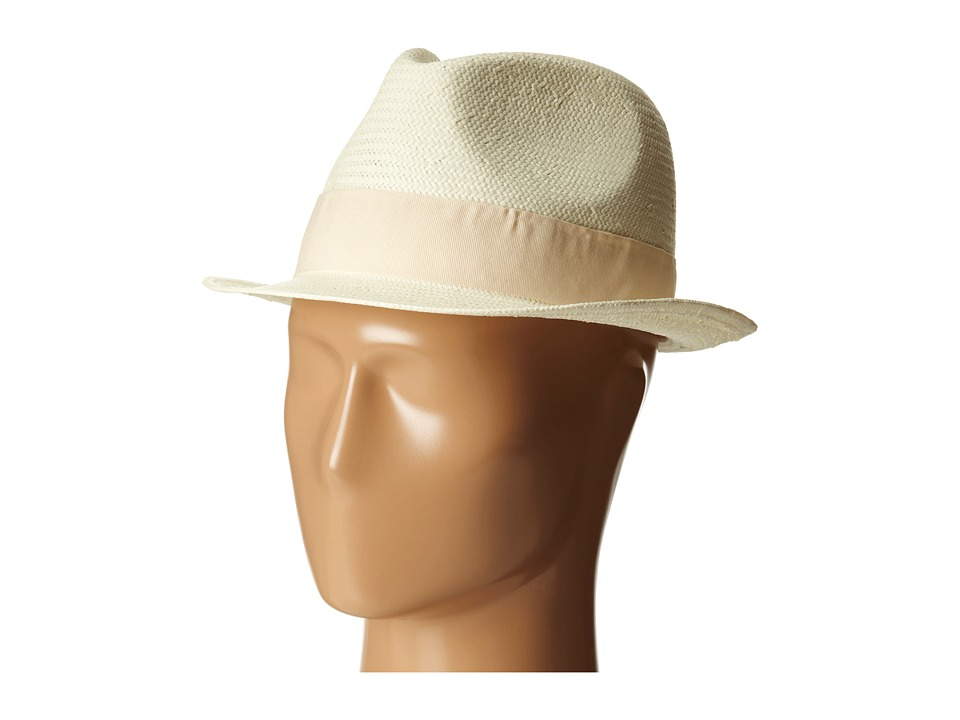 Michael Stars - Pop Band Short Brim Panama Hat (Raffia) Caps