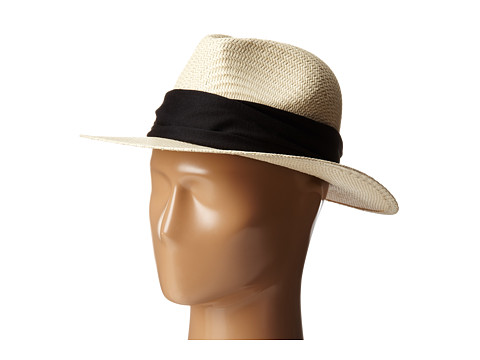 Michael Stars - Breezy Panama Hat (Black) Caps