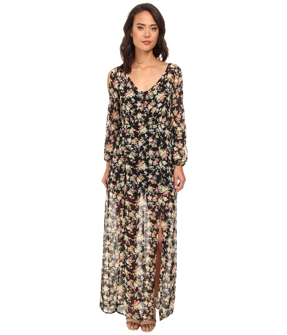 Gabriella Rocha - Darling Floral Dress (Black Multi) Women's Dress