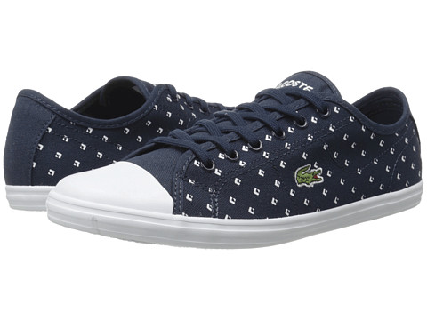 Lacoste - Ziane Sneaker Piq2 (Dark Blue/White) Women's Lace up casual Shoes