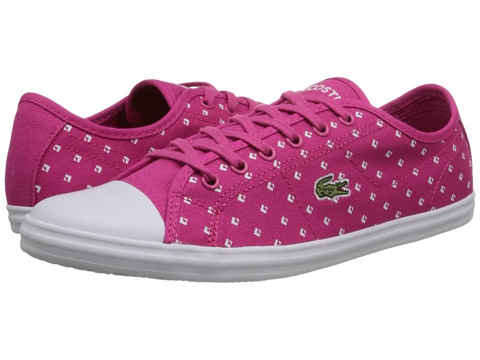 Lacoste Ziane Sneaker Piq2 (Pink/White) Women