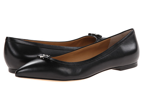 Marc by Marc Jacobs - Mini Bow Flats (Black) Women