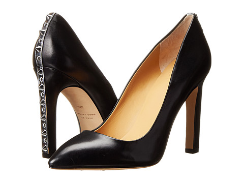 Marc by Marc Jacobs - Heel Studded Pumps (Black) Women's Shoes