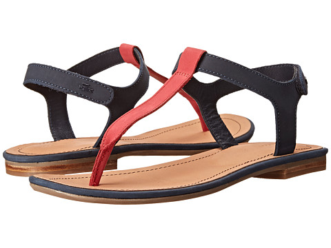 Lacoste - Lortenia (Dark Blue/Red) Women's Sandals
