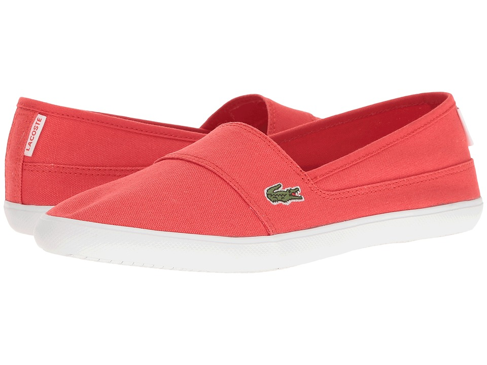 Lacoste - Marice Res (Red/Red) Women's Shoes