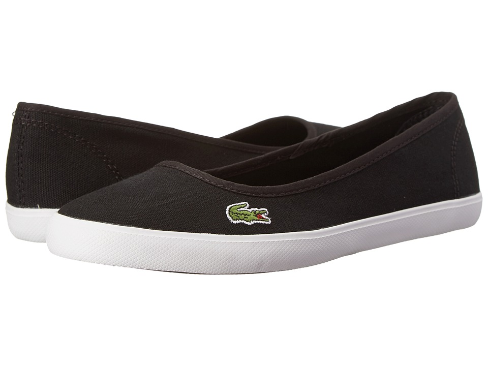 Lacoste - Marthe LCR (Black/Black) Women's Shoes