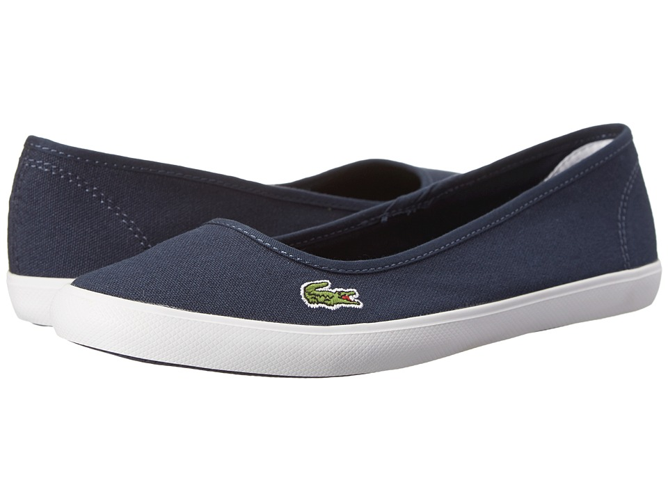 Lacoste - Marthe LCR (Dark Blue/Dark Blue) Women's Shoes