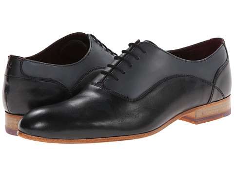 Ted Baker - Austtan (Dark Grey Leather) Men's Shoes