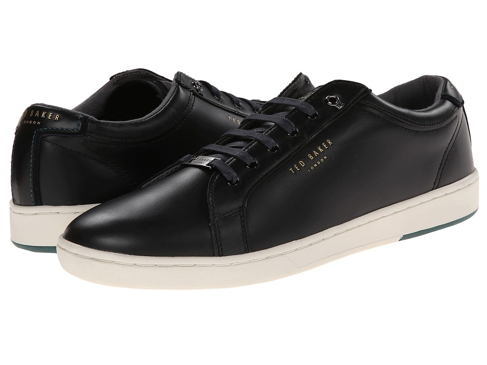 Ted Baker - Theeyo (Black Leather) Men's Lace up casual Shoes