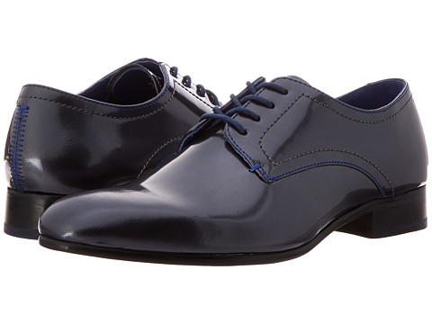 Ted Baker - Billay 2 (Dark Grey Patent) Men's Shoes