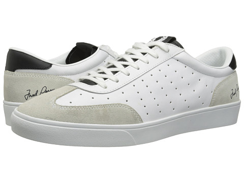 Fred Perry - Umpire Leather (White) Men's Shoes