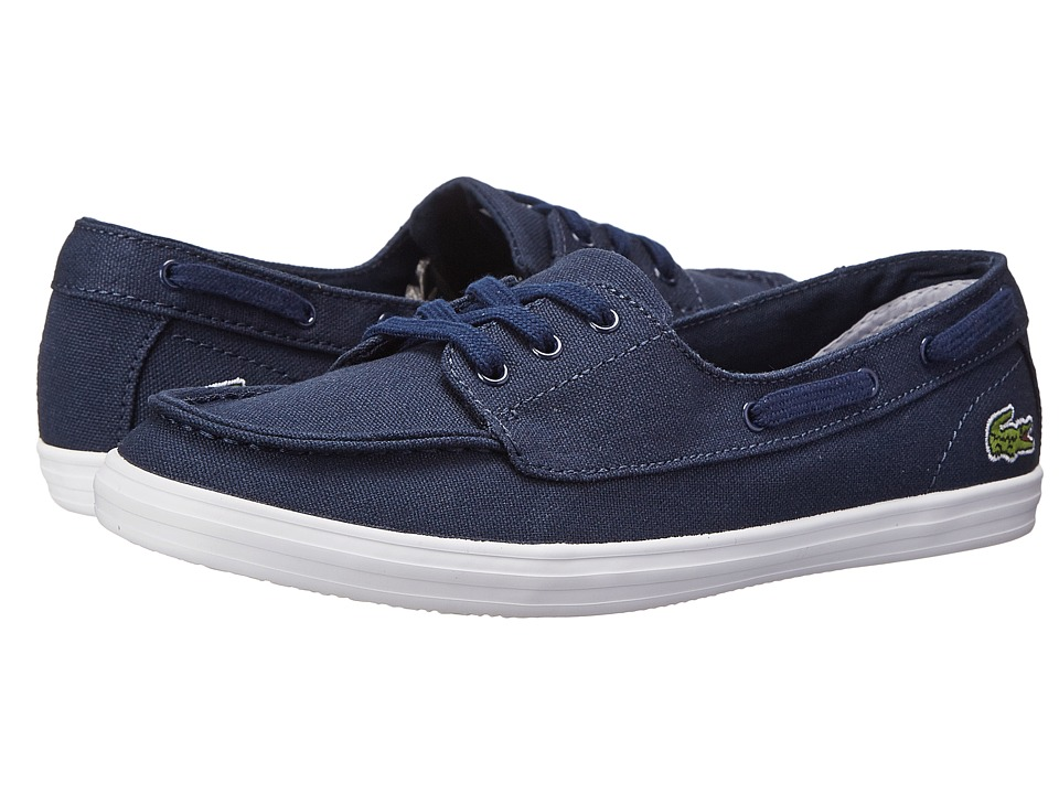 Lacoste - Ziane Deck Res (Dark Blue/Dark Blue) Women's Shoes