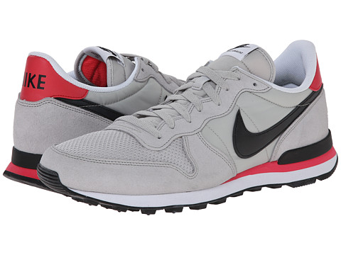 Nike - Internationalist (Neutral Grey/Infared/White/Black) Men's Shoes