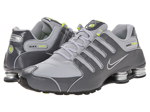 Nike - Shox NZ (Dark Grey/Wolf Grey/Volt/Dark Grey) Men