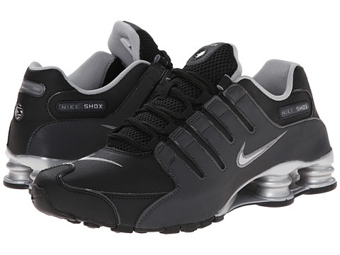 Nike - Shox NZ EU (Black/Anthracite/Metallic Silver/Reflective Silver) Men