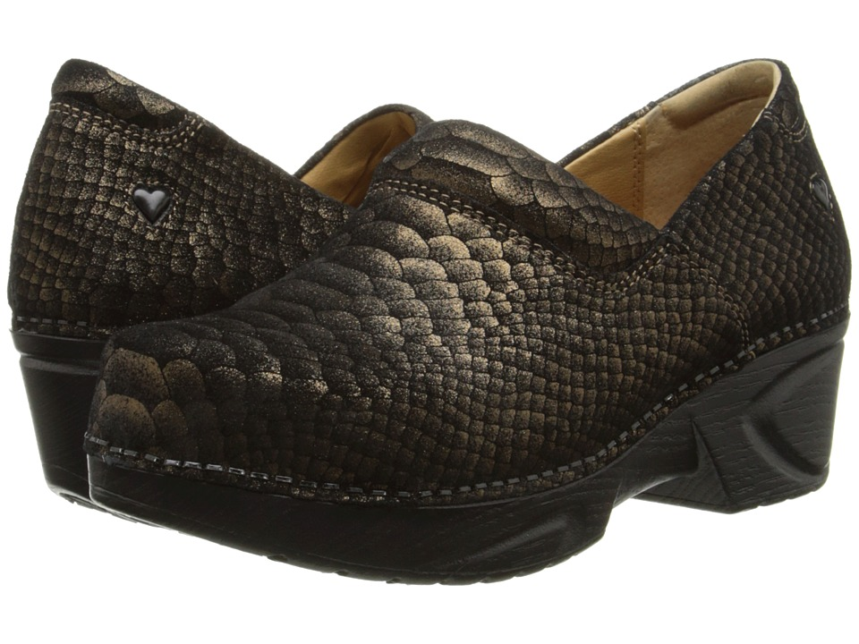 Nurse Mates - Chloe (Gold Python) Women's Shoes